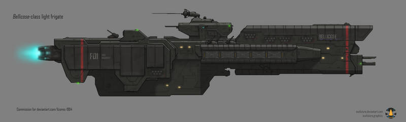 Commission: Bellicose-class light frigate