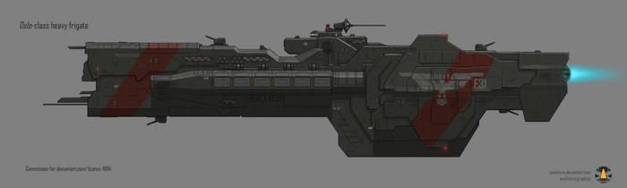 Commission: Oslo-class heavy frigate