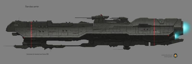 Commission: Titan-class carrier
