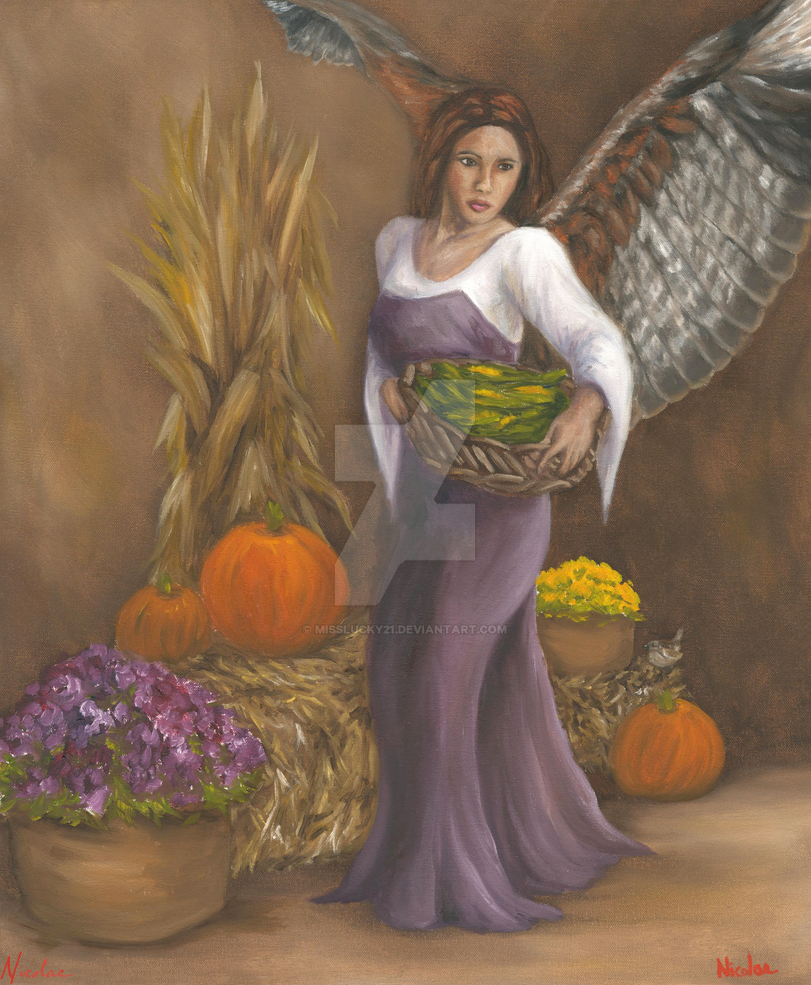 Harvest Angel II (November 2016) by misslucky21