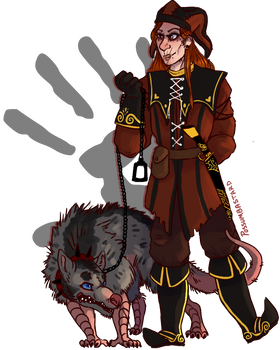 A Jester And His Rat