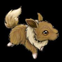 Eevee Bunny by Gullsko