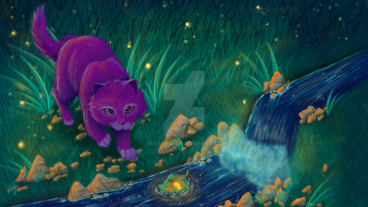 Friendly Fireflies by Gullsko