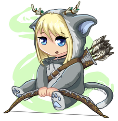 MapleStory entry, also my first chibi