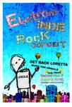 Electric indie rock concert