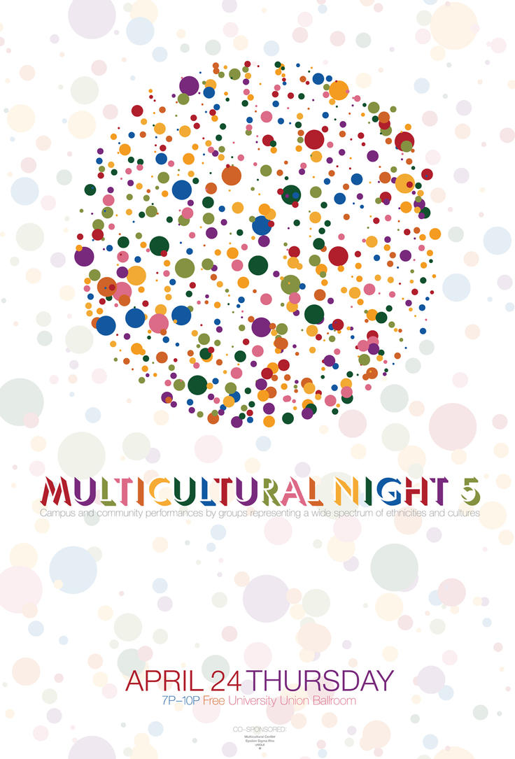 Multicultural Night 5_poster by kenji2030