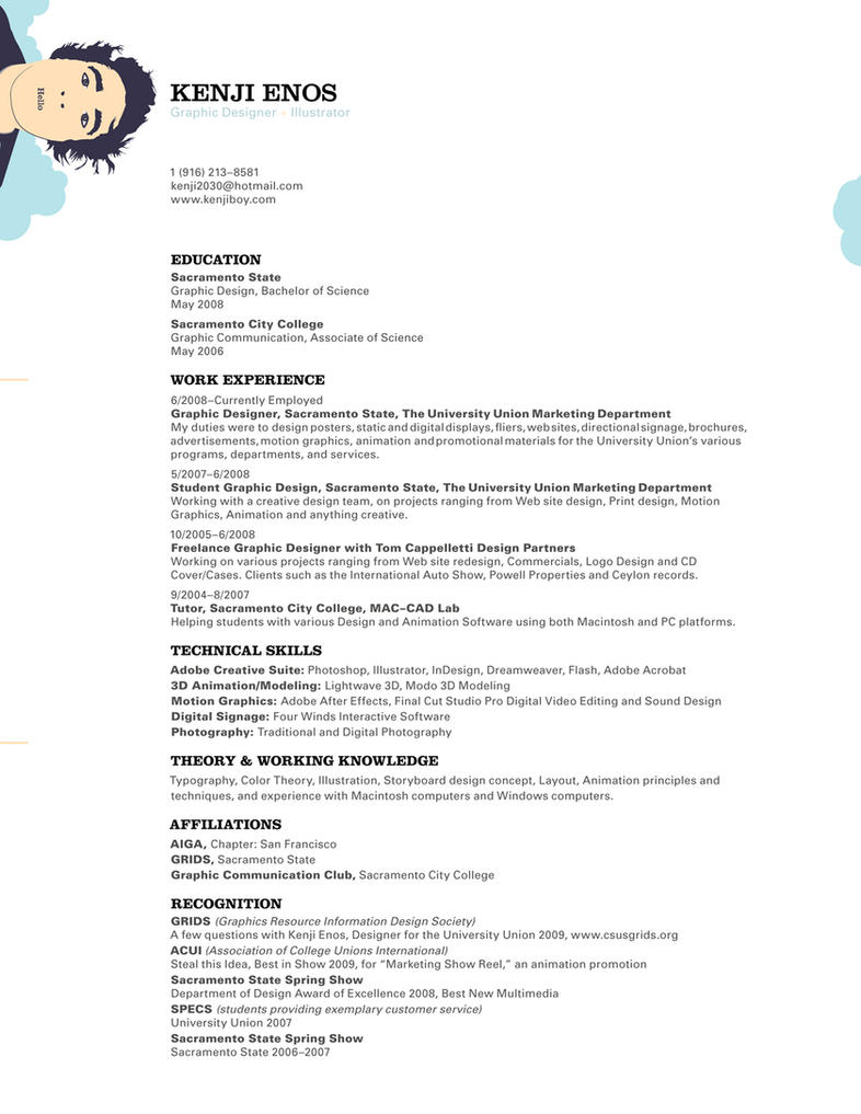 kenjiBoy_resume by kenji2030