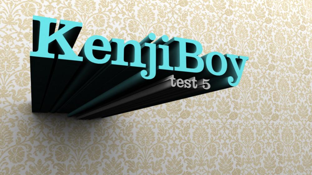 kenjiboy3D test 5 by kenji2030