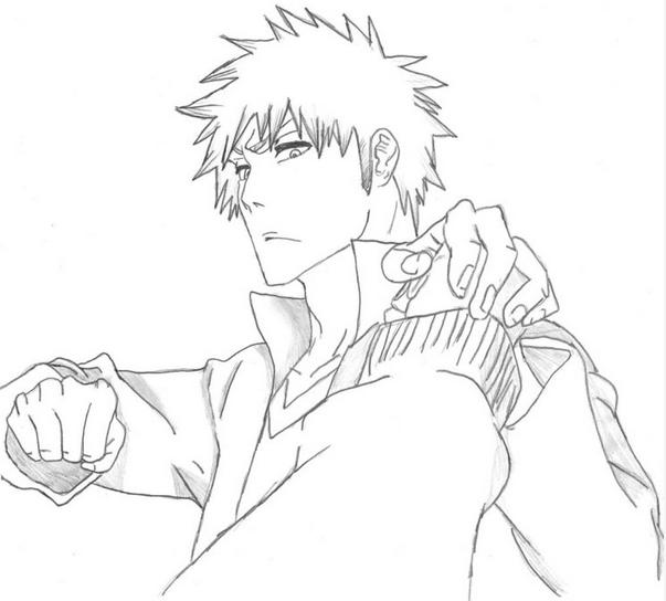 Ichigo Kurosaki by Bleached-Sinner