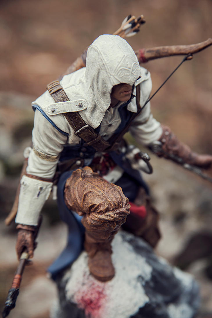 Connor Kenway by killaboom