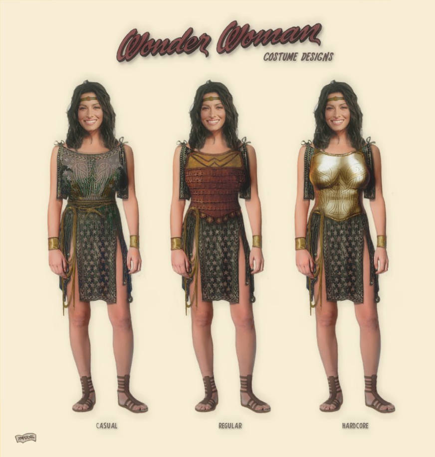 Wonder Woman Costume Redesign By Simonpimpernel On Deviantart