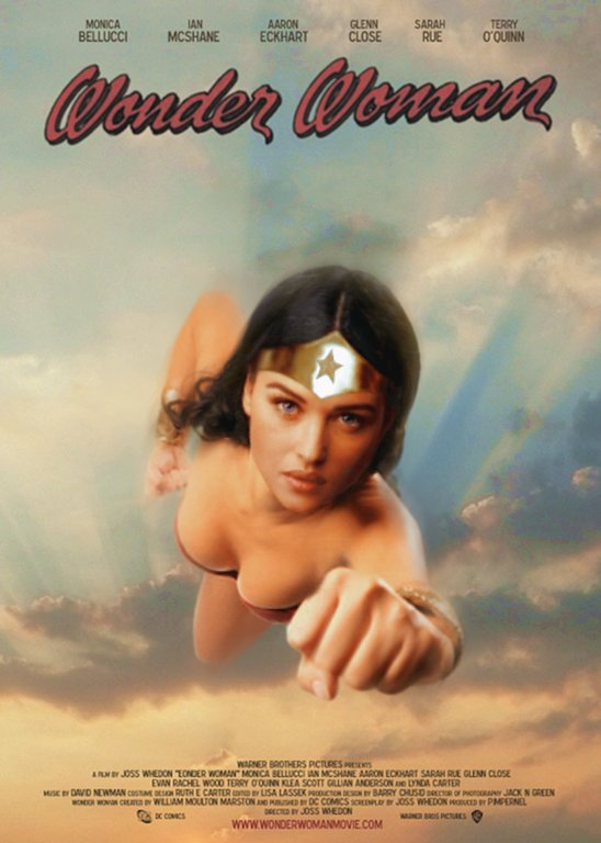 Wonder Woman theatrical poster by simonpimpernel