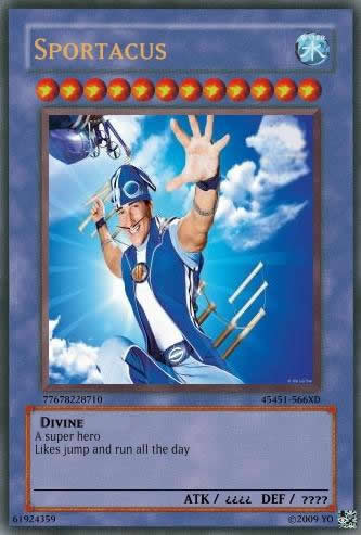 LT - Sportacus card by appatary8523