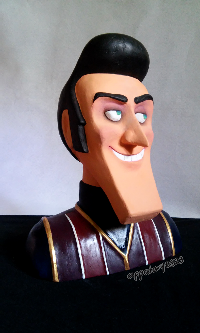 LT - Robbie Rotten bust by appatary8523