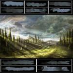 Glassthroughskin Brush Set 2 - Textured