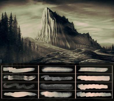 Glassthroughskin Brush Set 5 - Textured