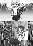 MANGA chibi mermaids