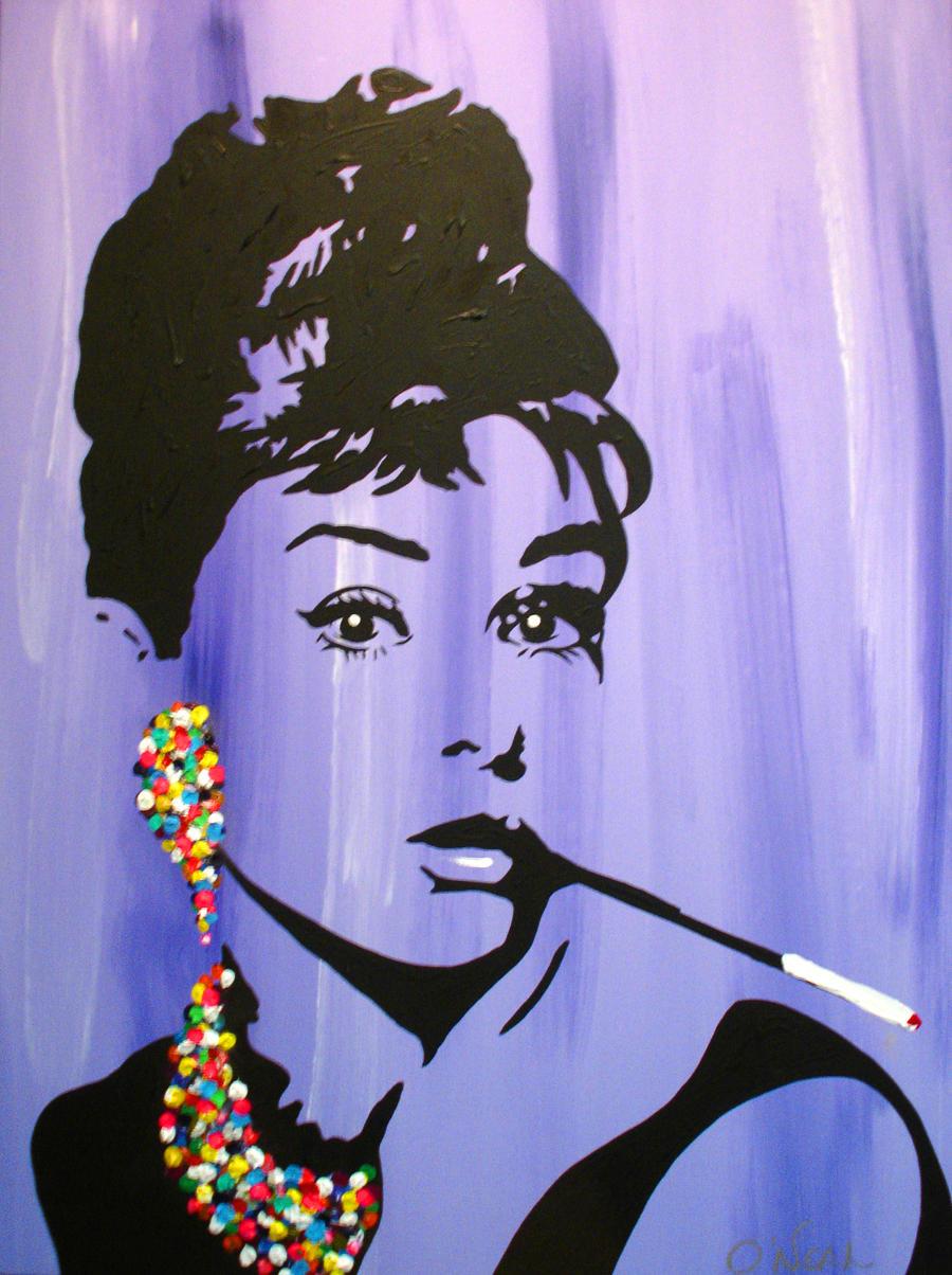 Audrey Hepburn Pop Art by LordColinOneal on DeviantArt