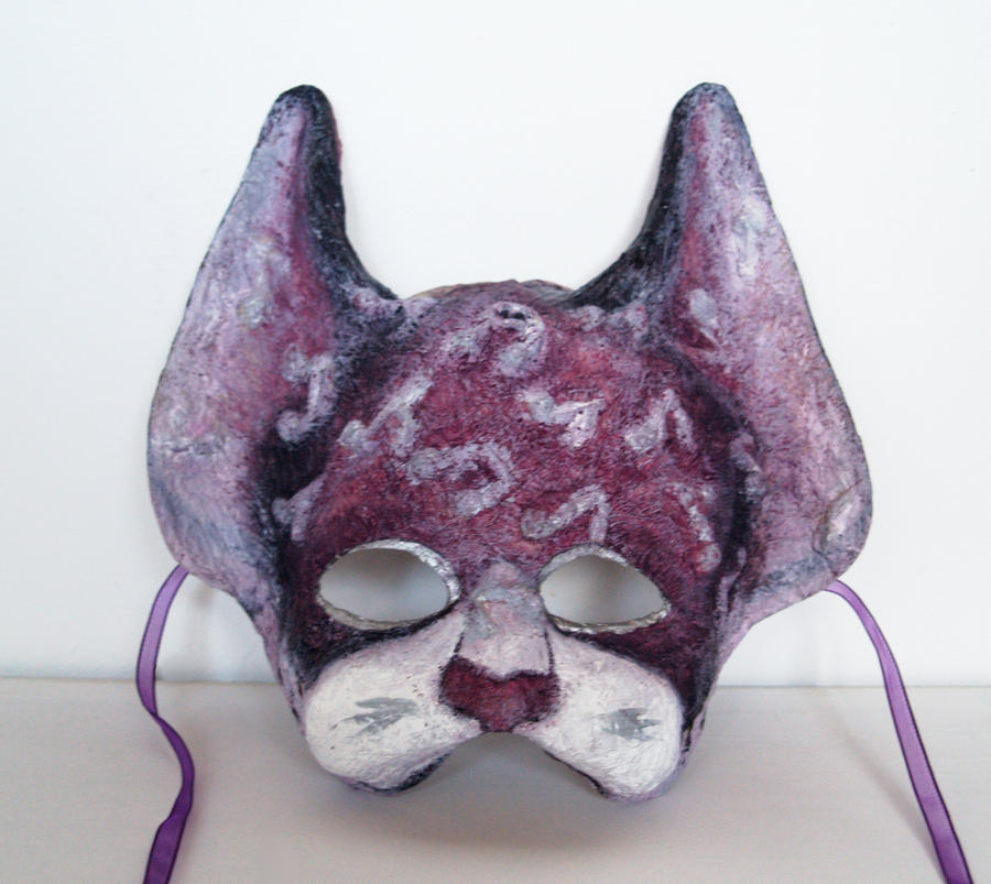 Musical cat mask by dovespirit