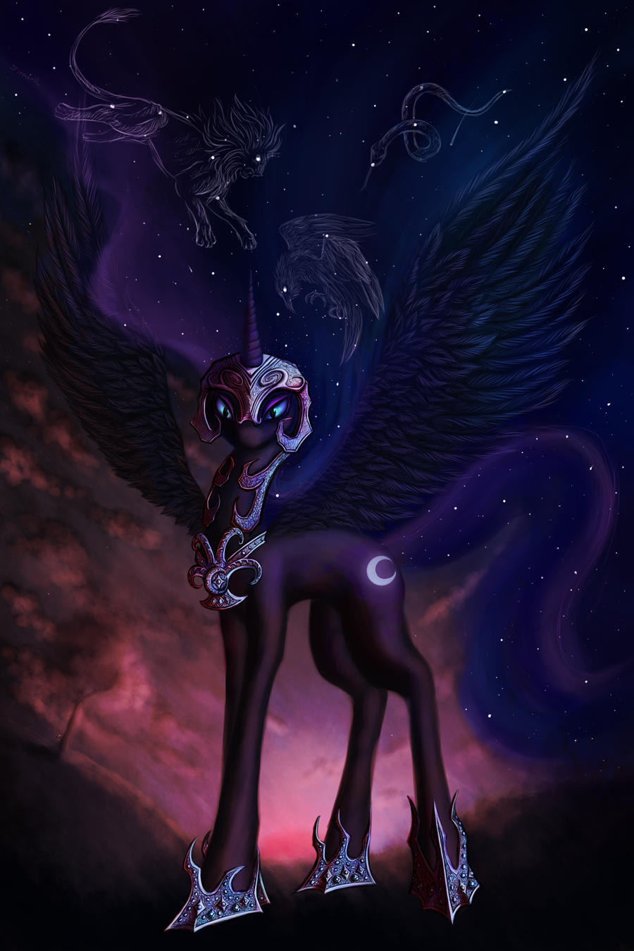 The Lunar Princess is back to bring the Nightmare by Sirmaril