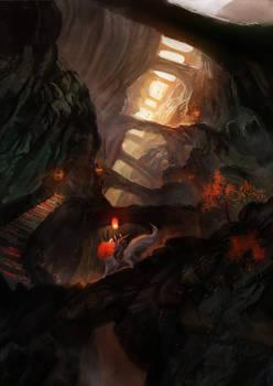 Autumn fairy tales of journey