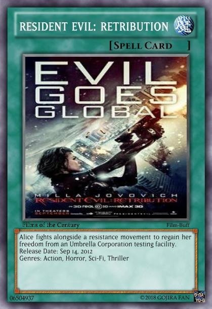 Resident Evil Retribution 2012 By Godzillanut54 On Deviantart