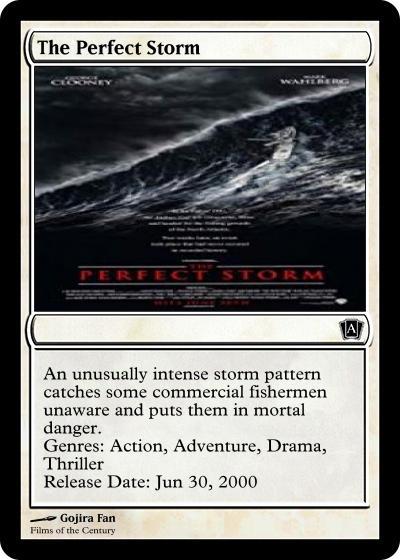 The Perfect Storm 2000 By Godzillanut54 On Deviantart
