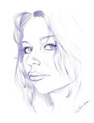 Girl Portrait by Torbak