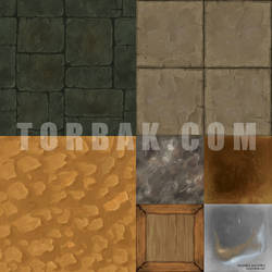 Textures painted by Torbak