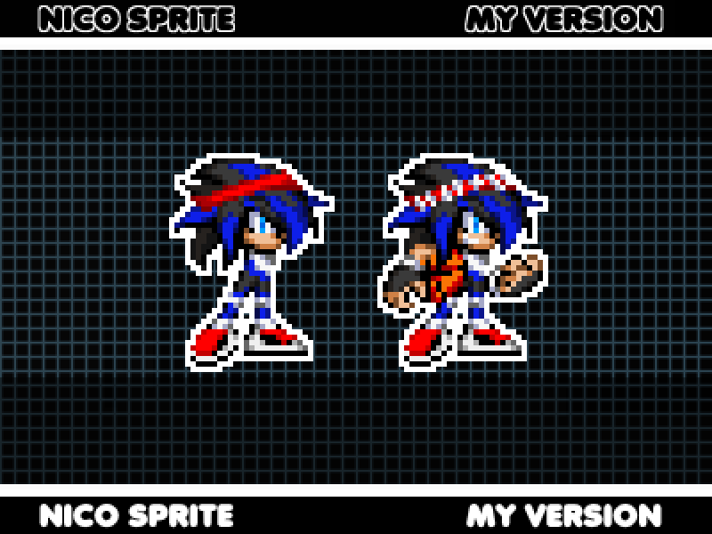 Nico The Tenrec - Sprite by ASparing-AStep