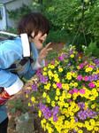 Seto Likes Flowers