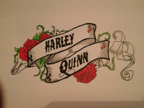 Doodle of my first tattoo design.