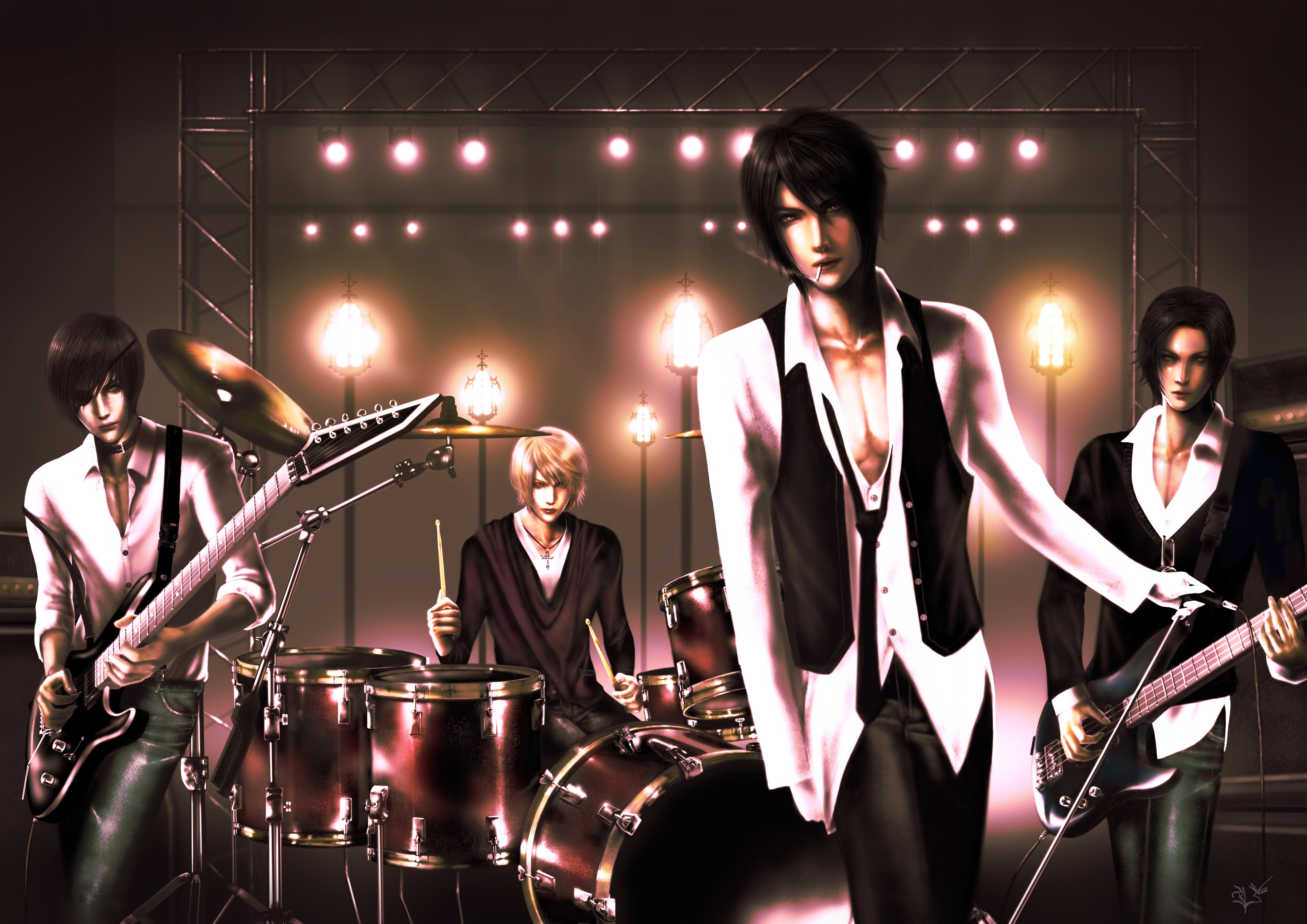 Kuroshitsuji band by thanomluk