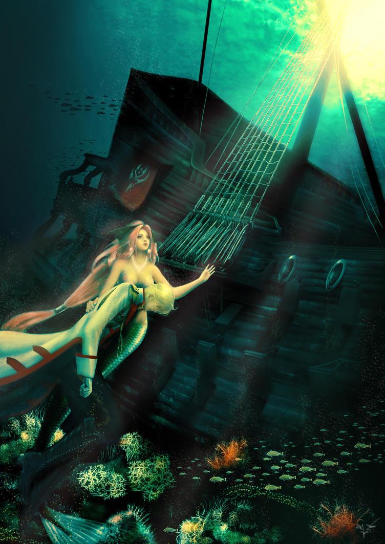 The Little Mermaid by thanomluk on DeviantArt