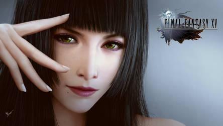 Gentiana Final Fantasy XV by thanomluk