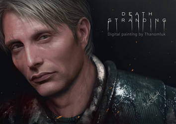 Death Stranding Mads Mikkelsen by Thanomluk by thanomluk