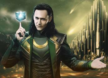Speed painting Loki by Thanomluk by thanomluk