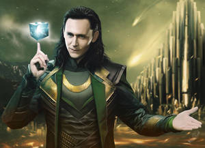 Speed painting Loki by Thanomluk