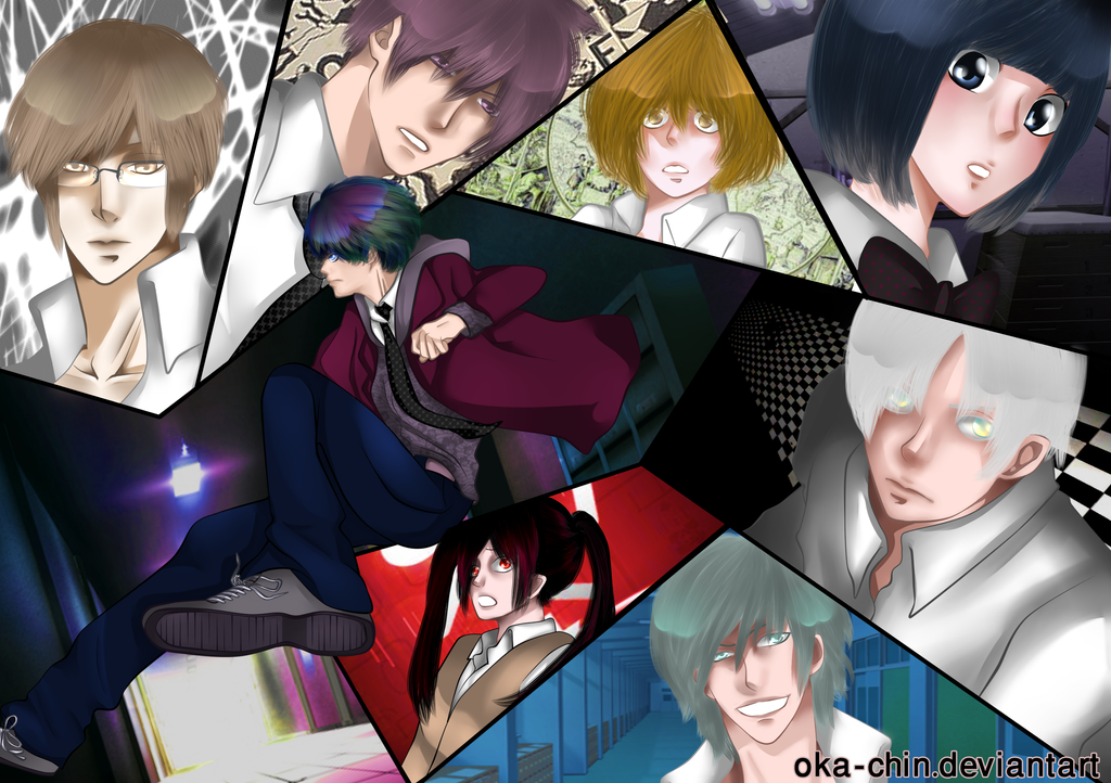 mystery games by OKA-CHIN