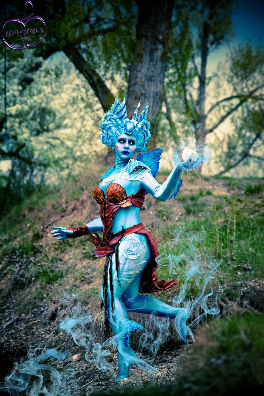 kiora magic the gathering cosplay by ichicosplayart on