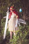 Aurora + Igniculus cosplay - In the dark woods