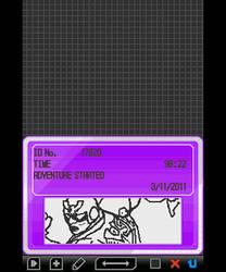 Pokemon White - Captain Falcon trainer signature