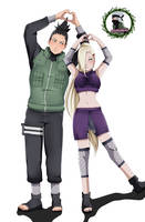 Shikamaru and Ino by UliyaIsa