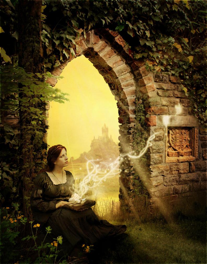 Golden Door to Imagination by Anarielhime ... & Golden Door to Imagination by Anarielhime on DeviantArt Pezcame.Com