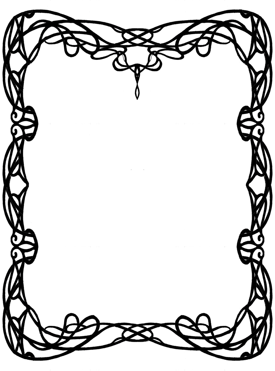 geometric art nouveau border - Google Search | Inspiration ...