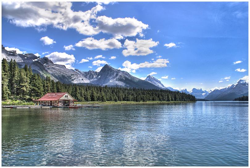 Maligne Lake by od1e