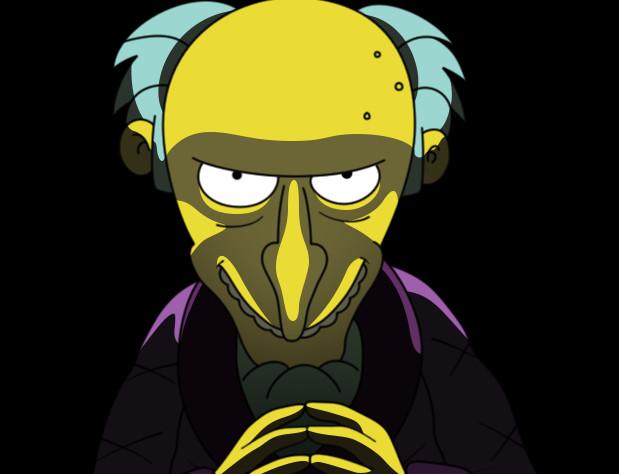 Mr Burns by od1e