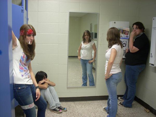 School Bathrooms school bathroomsmohonkey on deviantart
