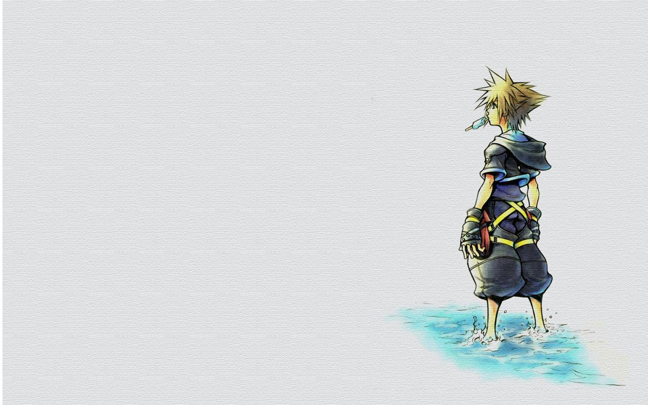 Kingdom Hearts Sora Wallpaper 1920x1080 Sora Wallpaper by Drea...