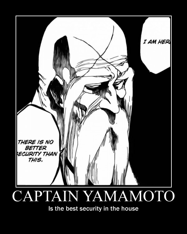 Bleach Captain Yamamoto By Lone Wolf74